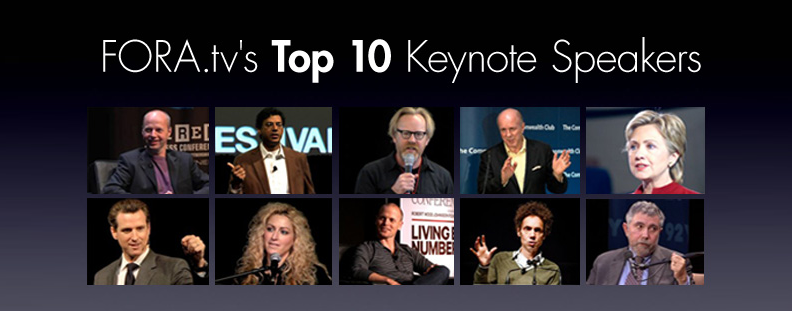 top 10 keynote speakers conference